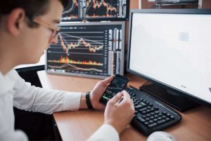Stock market trading software